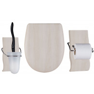 Set OLFA accessoires WC Sun Wood Mat