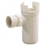Siphon pour groupe de sécurité avec déflecteur Ø32mm