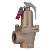 Soupape de sûreté 174A en bronze - 5 bar