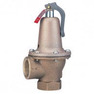 Soupape de sûreté 174A en bronze - 10 bar