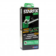 """STARFIX (Douche/Bain Douche) 150mm à visser pour MULTICOUCHE - F1/2"""" - Raccords visitables"""