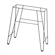 Support surélevé Gris pour Muret Toscane 80 cm - Dim. 85 x 40 x 70 cm