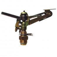 """Tête cracheur rotatif métal à secteur réglable - Filetage 3/4"""" - 800m²"""