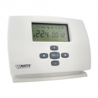 Thermostat d'ambiance digital filaire - horloge hebdomadaire - MILUX