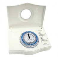 Thermostat d'ambiance filaire - horloge hebdomadaire CHRONOBAT