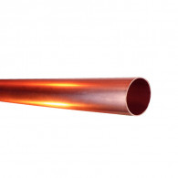 Tube cuivre nu écroui Ø14mm en barre