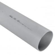Tube PVC évacuation NF-Me - diamètre 110 mm - 1m ou 2m ou 4m - Nicoll