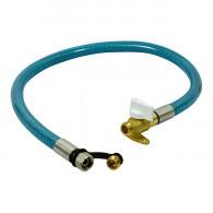 Two-inox flexible 2m garantie à vie + robinet ROAI - Gaz naturel