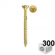 300 Vis VBA tête fraisée empreinte cruciforme PZ Ø3