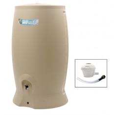 Récupérateur d'eau 1000 L rotomoulé Recup'o + Kit Collecteur - Dim. L 107 x l 80 x P 181 cm - EDA Plastiques