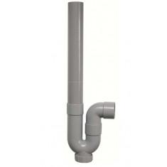Siphon vertical machine à laver Ø40 - hauteur 405 mm - Sferaco