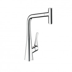 Mitigeur évier Metris Select 320 douchette extractible - Hansgrohe 14884800