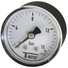 "Manomètre ABS à cadran sec AXIAL Mâle 1/8"" (5/10) - Ø40 - 0 à 10 bars - Sferaco"