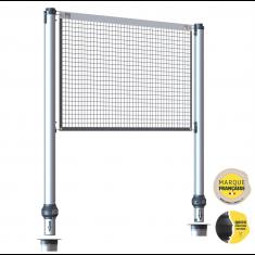 Kit de poteaux multisports télescopique pour base d'ancrage GARD&ROCK