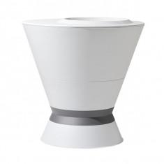 Pot haut IKONE table basse Ø75 x 76,3 cm - 105 L - Gris anthracite