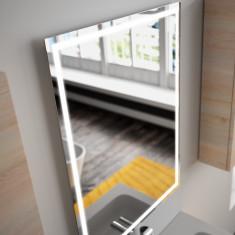 Miroir de salle de bain Chicago à lumière LED et antibuée - Salgar