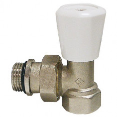 """Robinet thermostatisable corps EQUERRE Femelle 3/4"""" (20/27) - Somatherm"""