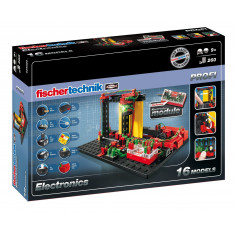 Jeu de construction Pro fischertechnik Electronics (+9 ans)
