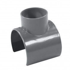 Raccord pression PVC Nicoll - Réduction incorporée NF