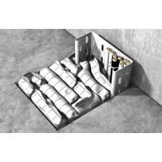 25 sacs coupe-feu pour le calfeutrement d'ouvertures de service, temporaires et permanentes, en application verticale et horizontale FiP / Std