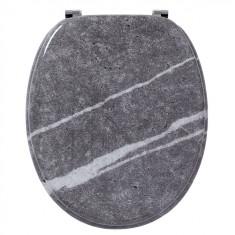 Abattant WC DECO Bois marbre - Wirquin Pro 20720370