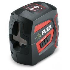 Laser à faisceau croisés autonivelant à batterie intégrée - 1 horizontal - Flex