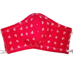 Masque de protection en coton lavable Ancre