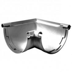 Angle intérieur/extérieur 90° gouttière PVC 33 demi-ronde