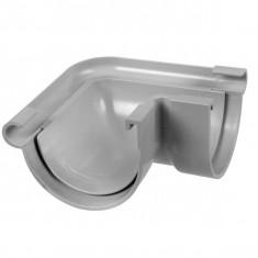 Angle extérieur 90° gouttière PVC 16 demi-ronde