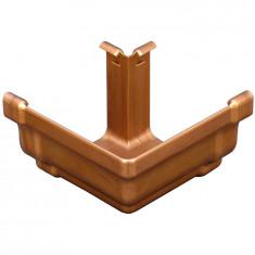 Angle extérieur 90° PVC BEST carré - effet cuivre