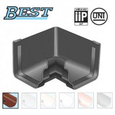Angle intérieur 90° PVC BEST carré - marron