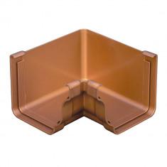 Angle intérieur 90° PVC BEST carré - effet cuivre