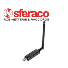 Antenne réceptrice USB M-Bus pour compteur équipé d'un émetteur radio