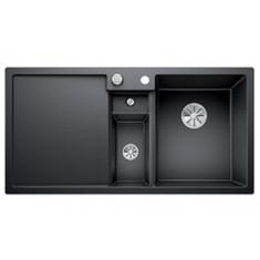 Évier de cuisine Collectis 6S - Anthracite - sous-meuble 60 cm - L 1000 x l 500 x P 190 mm + Bac de tri - Blanco
