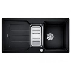 Évier de cuisine Neo 6S - Anthracite - sous-meuble 60 cm - L 1000 x l 510 x P 190 mm + Planche en composite - Blanco