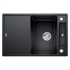 Évier de cuisine Axia III 45S - Anthracite - sous-meuble 45 cm - L 780 x l 510 x P 185 mm + planche en verre - Blanco