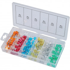 Assortiment de mini-fusibles, 120 pcs KS Tools 970.0280