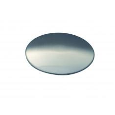 Cache bonde en acier inoxydable mat - pour éviers de cuisine - Aquatop