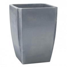 Bac à arbustes PALMEA Gris - Vase haut 47 x 47 x 65cm - 65L