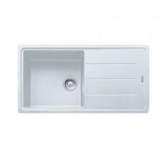 Évier Basis Fraganit BFG611XL - Blanc artic - 970x500 mm - Sous-meuble 60 cm - Franke
