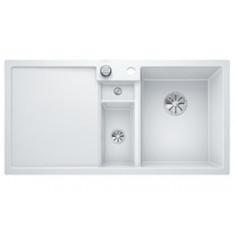 Évier de cuisine Collectis 6S - Blanc - sous-meuble 60 cm - L 1000 x l 500 x P 190 mm + Bac de tri - Blanco