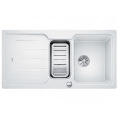 Évier de cuisine Neo 6S - Blanc - sous-meuble 60 cm - L 1000 x l 510 x P 190 mm + Planche en composite - Blanco