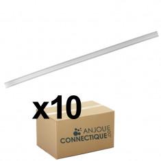 Boîte de 10 Rallonges canule pour bec mélangeur Ø 9 (1,0 m) - insertion de résine dans les forages grande profondeur - Fischer