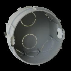 Boîte d'encastrement 2 postes Ø67x40mm - vertical entraxe 57mm - Schneider ALB71333
