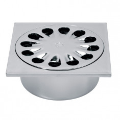 Bonde de sol 150x150 mm métalisée - Wirquin PRO SP6016