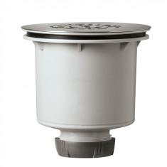 Bonde de douche TOURBILLON verticale NF Ø90 mm - Wirquin Pro 30721058