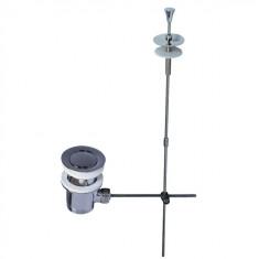 Bonde Lavabo Ø63 mm à tirette en laiton - Wirquin Pro 30720451