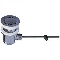 Bonde lavabo Ø63 mm sans tirette en laiton - Wirquin Pro 30720441