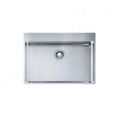 Évier Box Inox Slimtop BXX210-68 - 715x510x200 mm - Sous meuble 80 cm - Franke