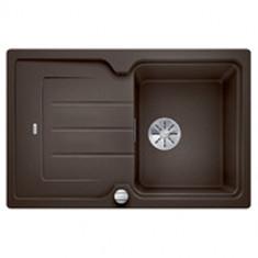 Évier de cuisine Classic Neo 45S - Café - sous-meuble 45 cm - L 780 x l 510 x P 190 mm - Blanco
